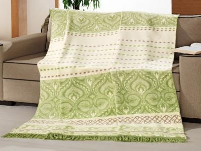 Плед cotton Rajtex 150*200 Оливка 10882a