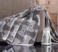 Плед cotton Rajtex 200*220 Шоколад 17407a