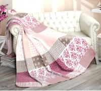 Плед cotton Rajtex 150*200 Кантри роза 15150c